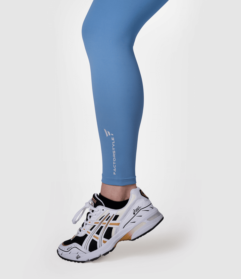 Skin Feeling Leggings (Lake Blue)