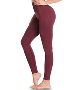 Stella Leggings (  Bordeaux )