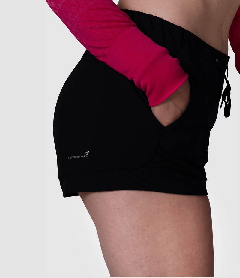 Soft Feeling Shorts (Black)
