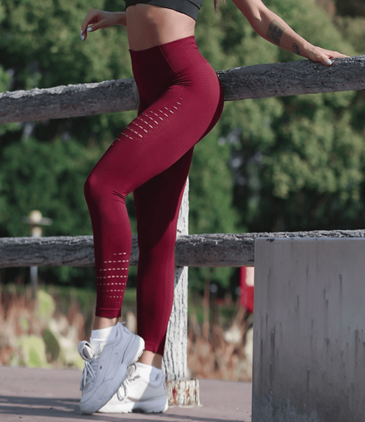 Strength Training Leggings (Red)