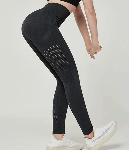 Mesh Gym Leggings (Black)