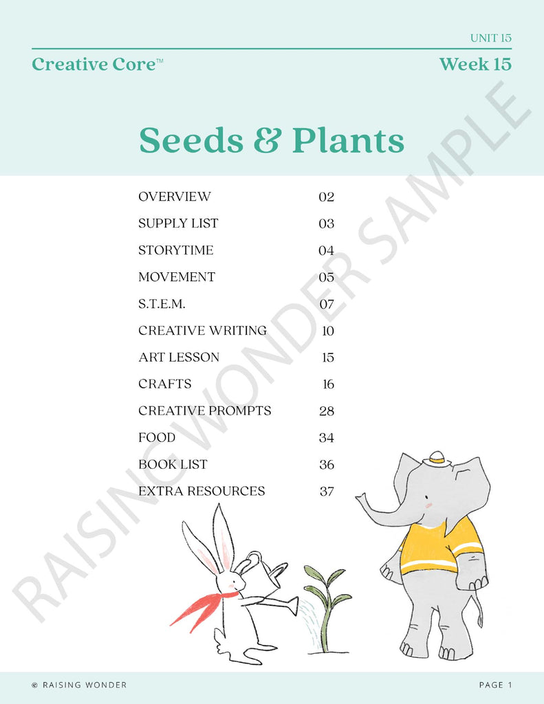 SEEDS & PLANTS UNIT