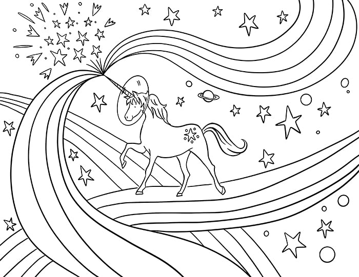 August 2019 Coloring Pages