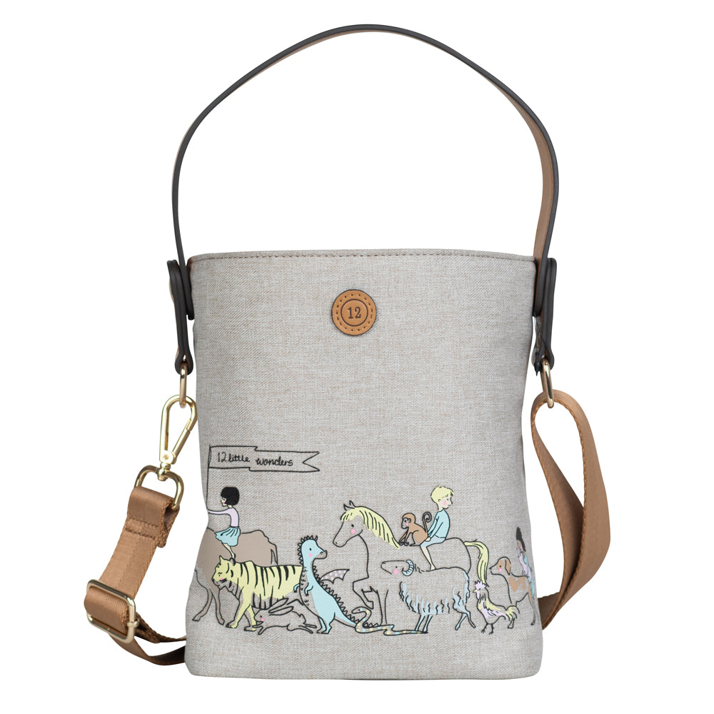 Parade Bottle Bag (Tan)