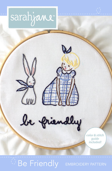 Be Friendly PDF Pattern