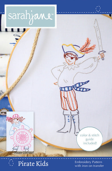 Pirate Kids PDF pattern