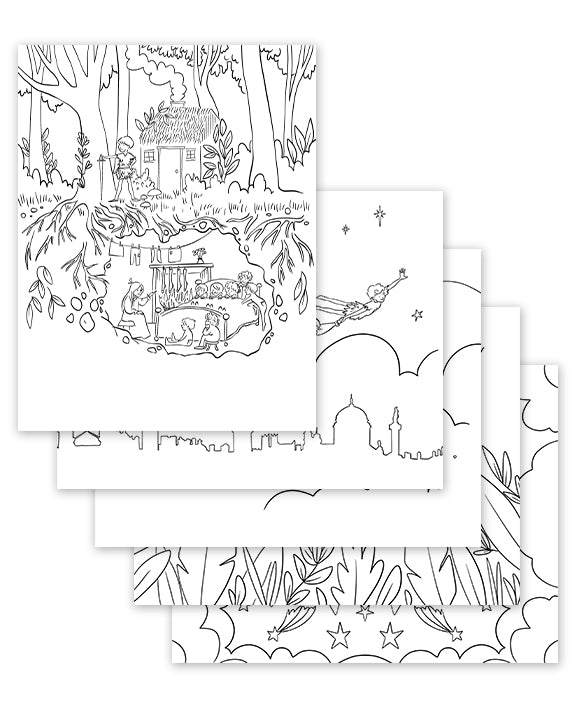 February 2020 Coloring Pages