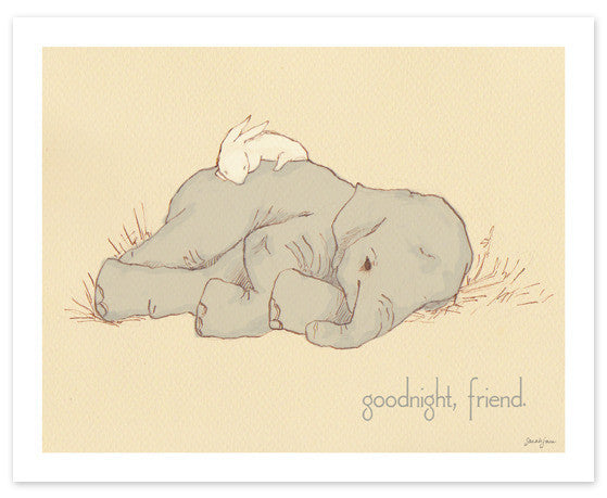 Goodnight, Friend