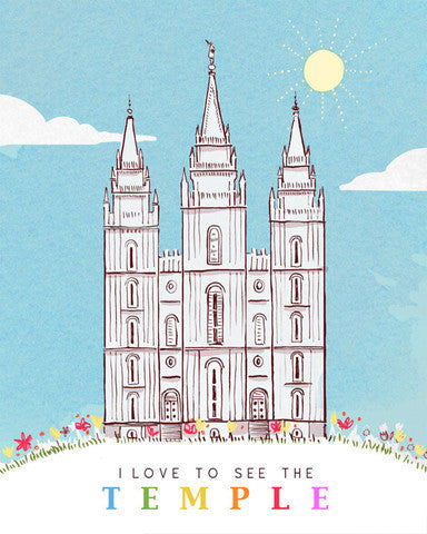 Sale: I Love to See the Temple