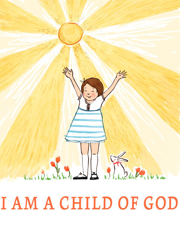 Sale: I am a Child of God (Girl)