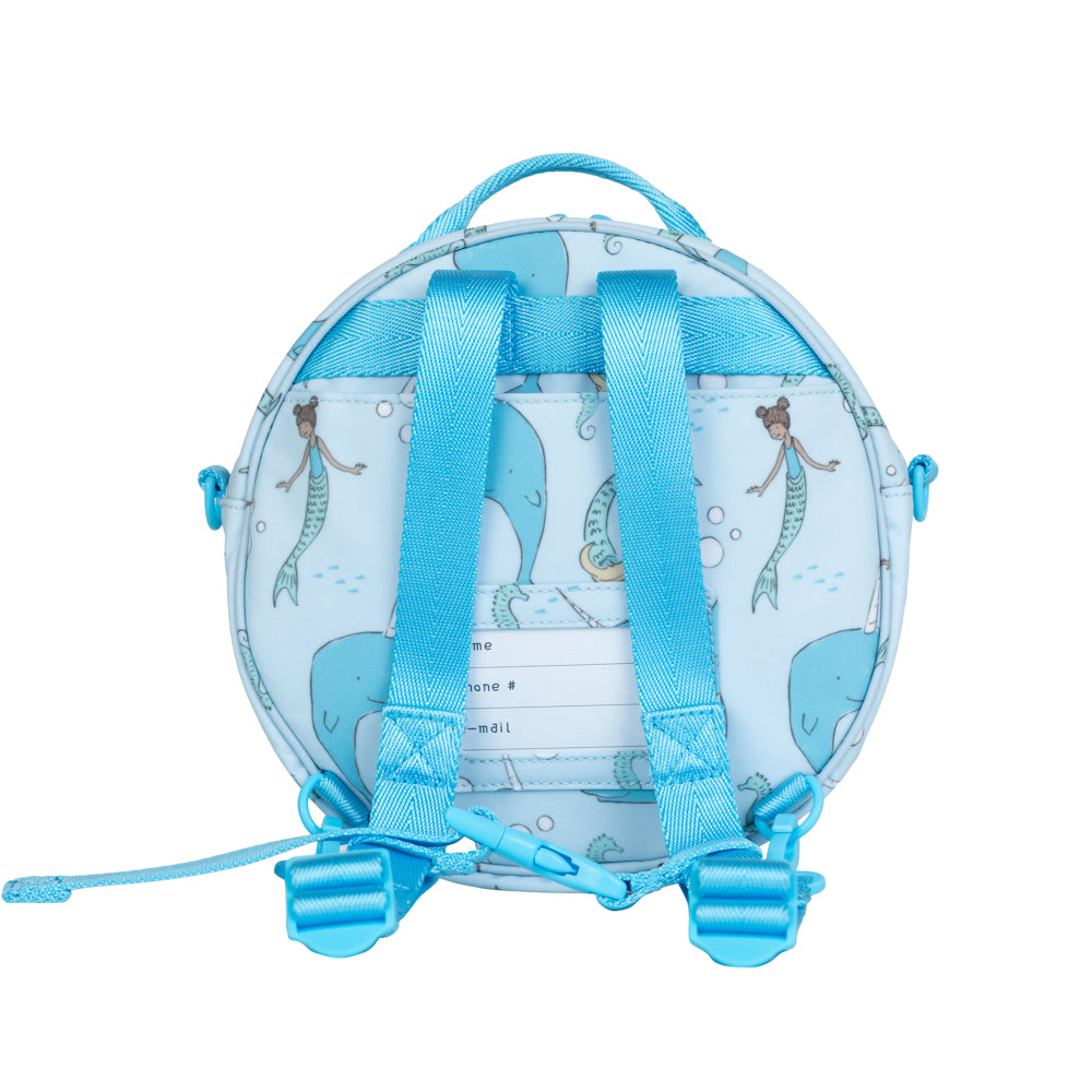 Under the Sea Round Bag (Blue)