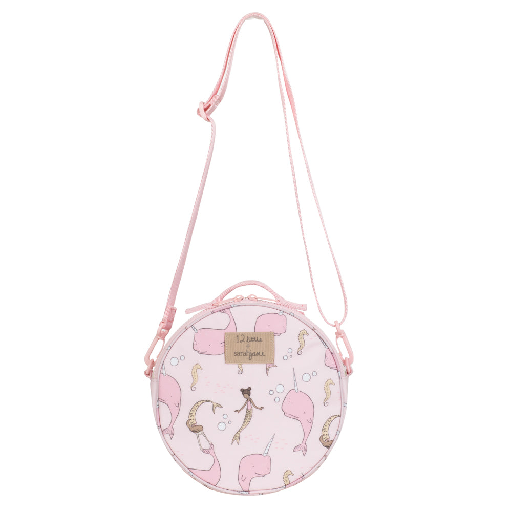 Under the Sea Round Bag (Pink)
