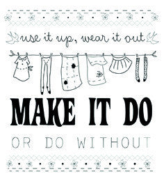 Make It Do PDF pattern