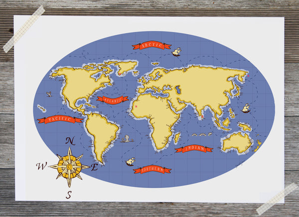 Nautical Map