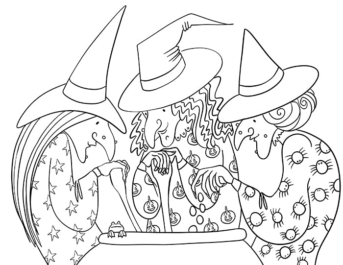 October 2019 Coloring Pages