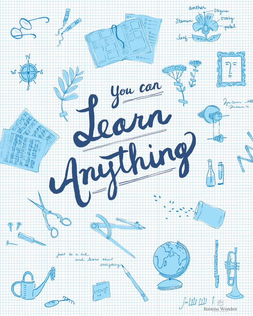 You Can Learn Anything PDF Print
