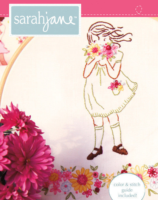 Summer Flowers PDF pattern