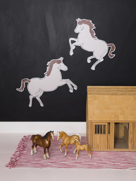 Horses Wallpaper Decals