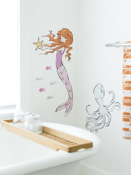 Mermaid Wallpaper Decals