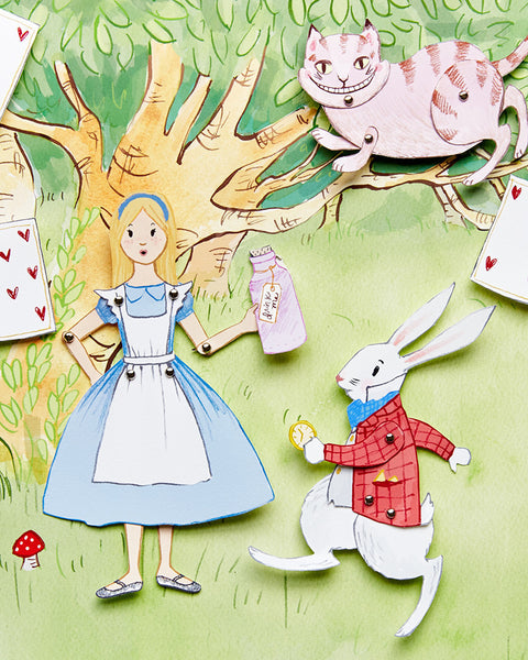Alice in Wonderland Puppet Theater