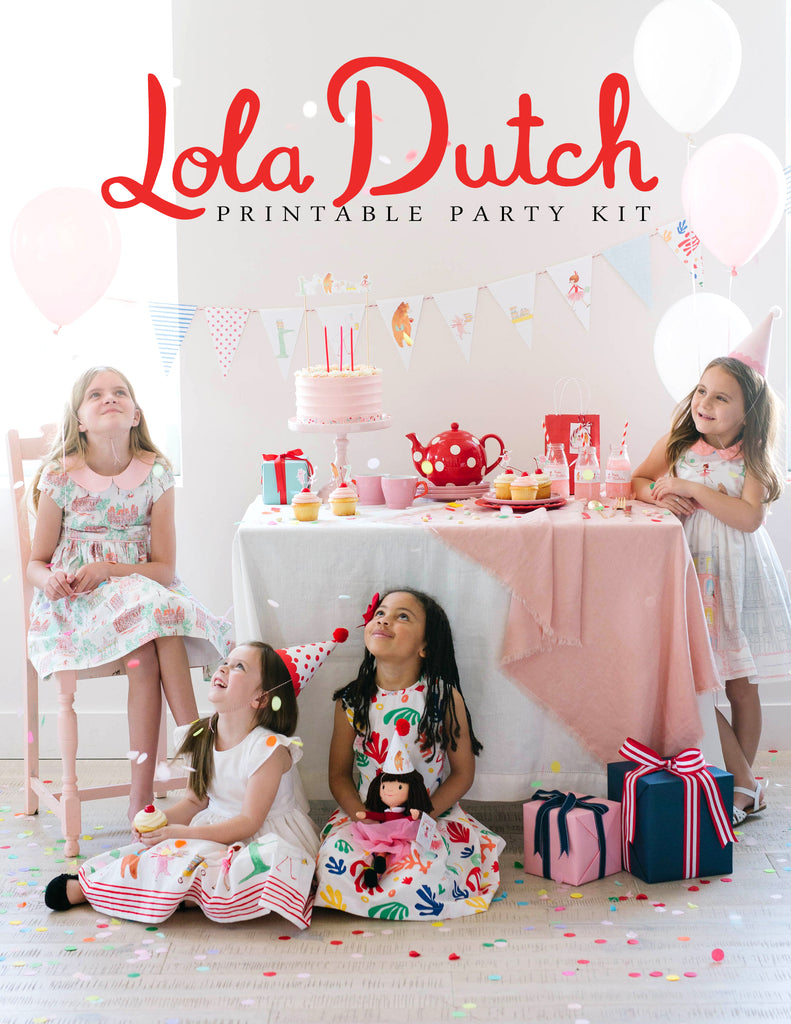 LOLA DUTCH PARTY KIT (Digital)