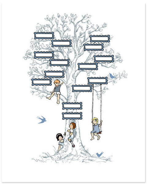 Family Tree (Blue)