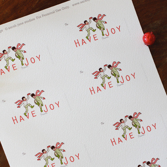 Have Joy PDF Gift Tag
