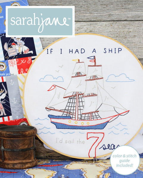 If I Had a Ship PDF pattern