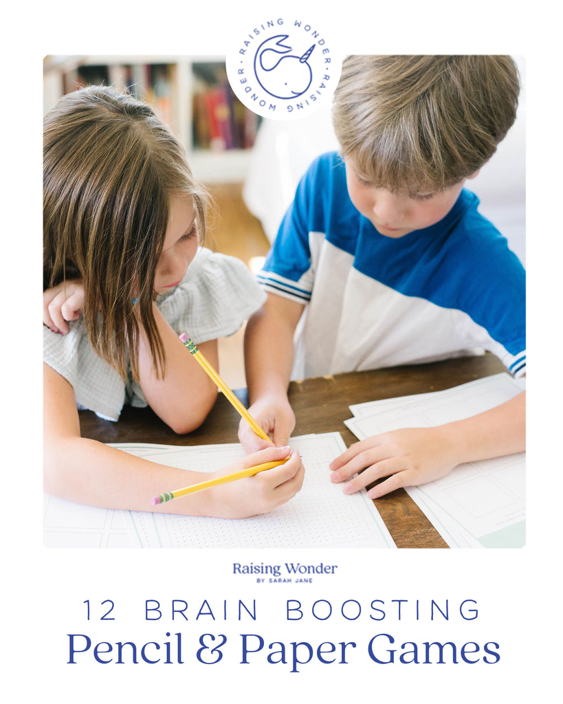 Brain Boosting Pencil & Paper Games E-book