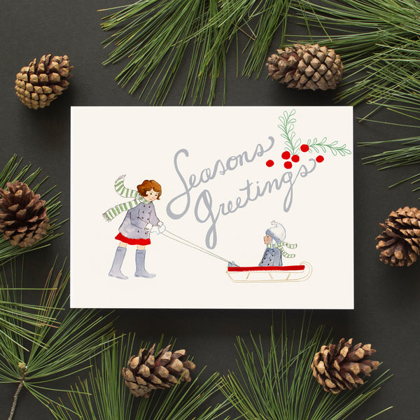 Seasons Greetings PDF Card