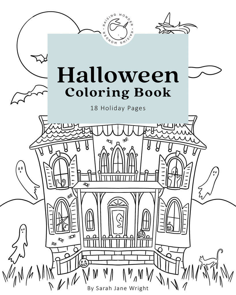 HALLOWEEN COLORING e-book