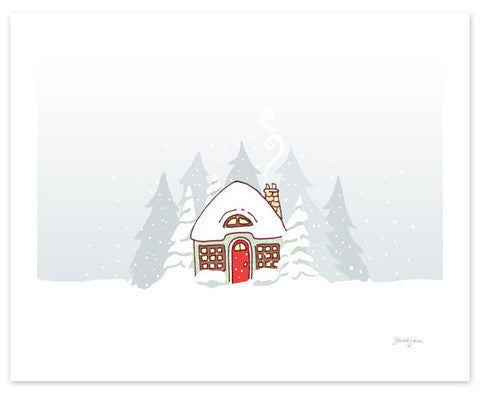 Snow on Snow PDF Card