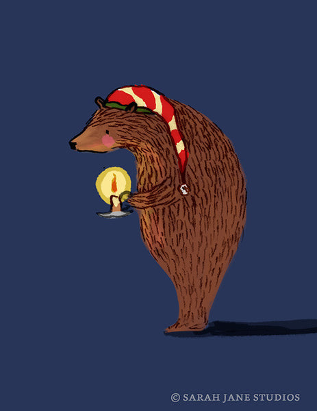 Mr. Bear's Christmas PDF card