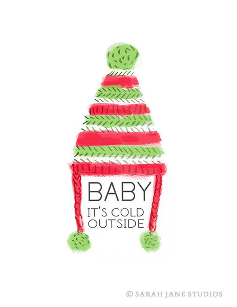 Baby It's Cold Outside PDF Card