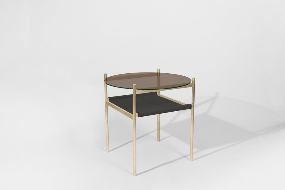 Customizable Duotone Circular Side Table