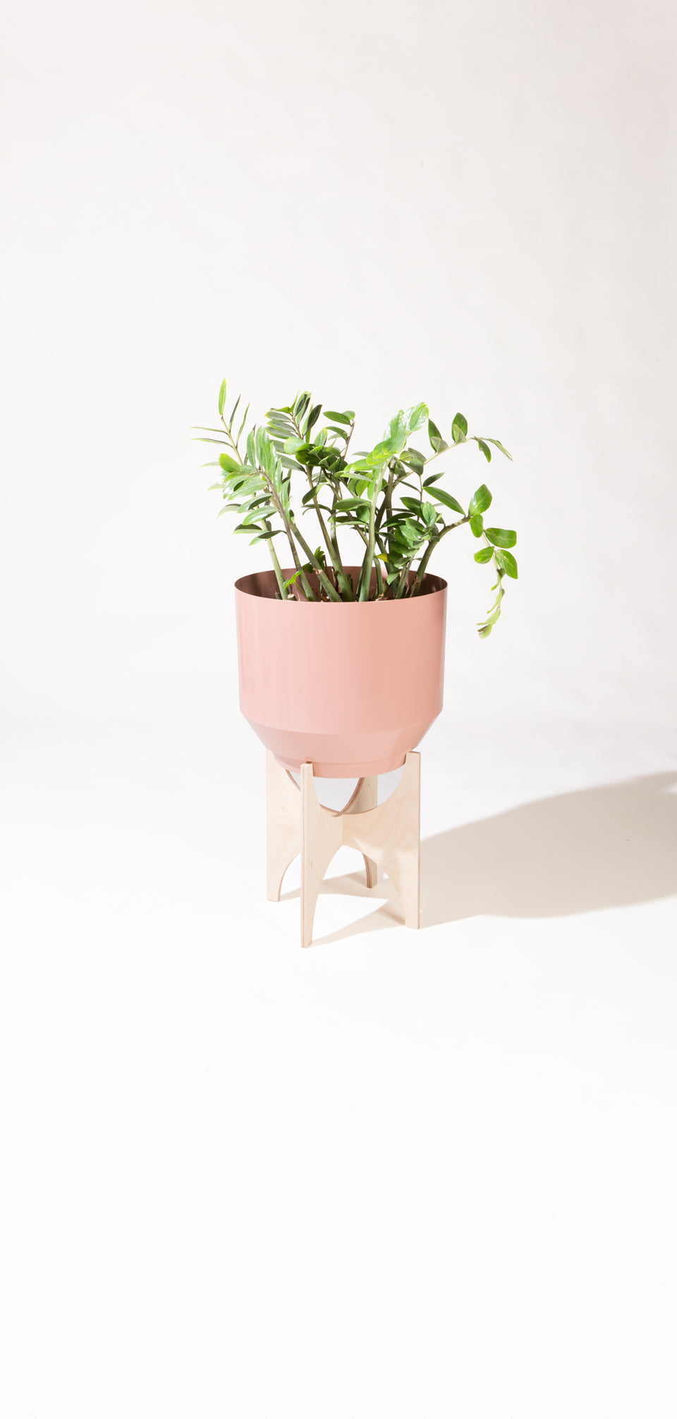 "16"" Spun Planter - Peach"