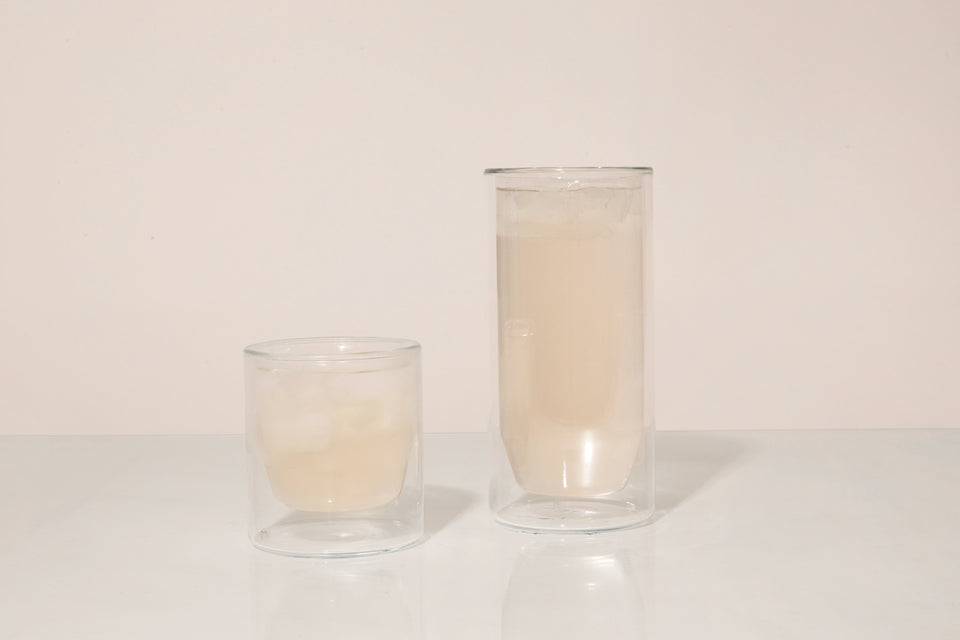 Double-Wall 16oz Glasses - Set of Two