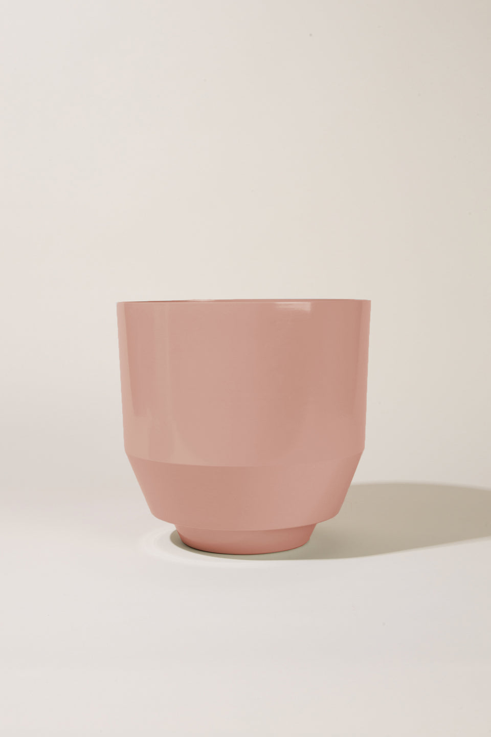 "8"" Spun Planter - Peach"