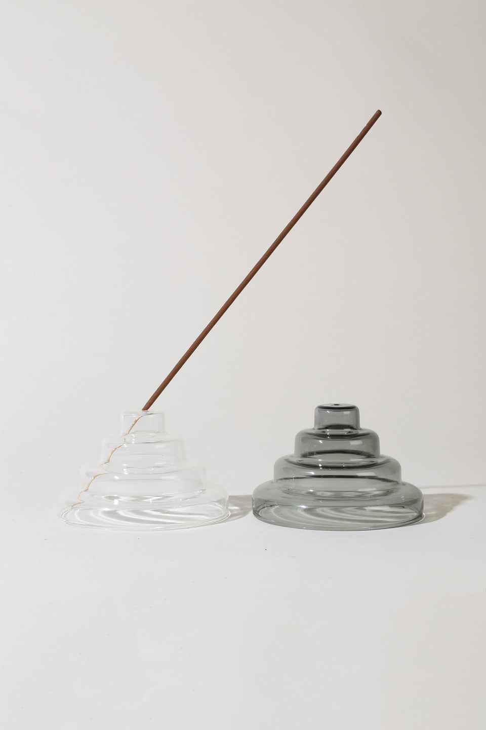 Glass Meso Incense Holder