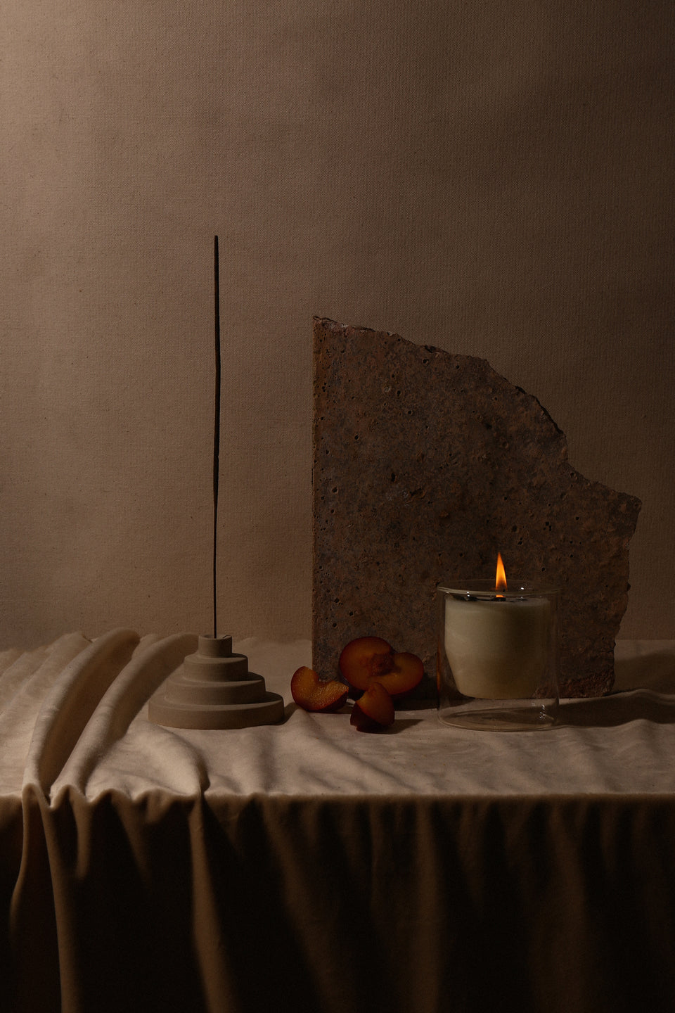 Ceramic Meso Incense Holder