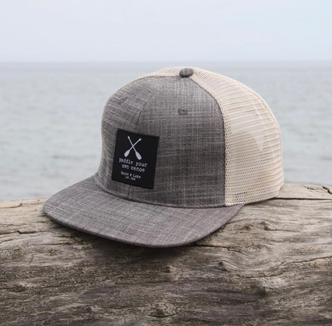 Paddle Your Own Canoe Snapback Hat 2020 - only littles size left