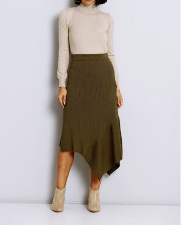 The Olive Sweater Skirt