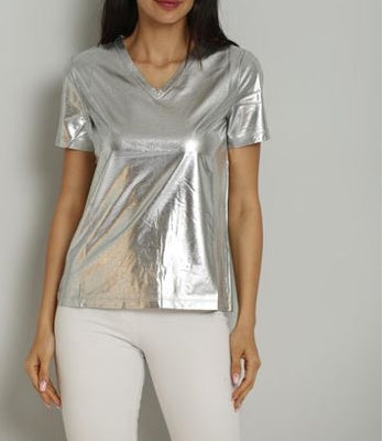 The Aria Silver Top