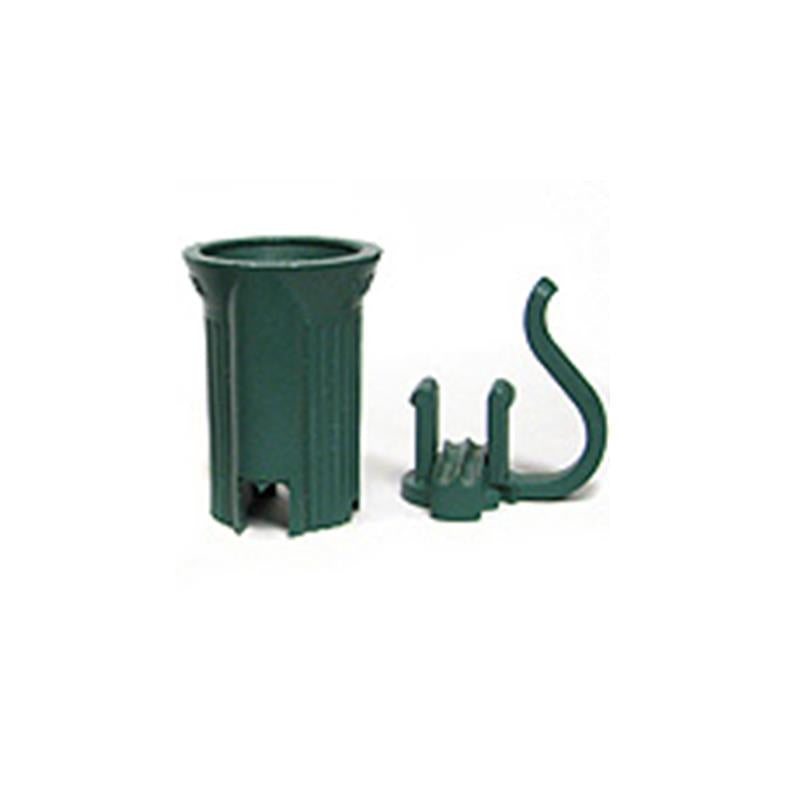C7 Green Replacement Sockets - Bag of 100