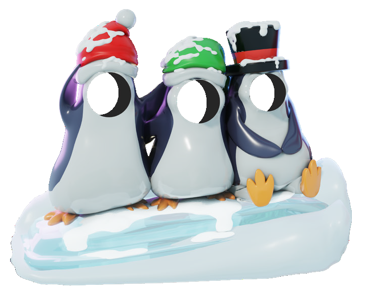 Chilly Penguins Photo Pod