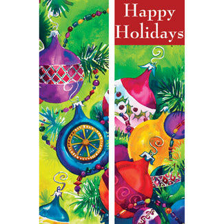 Colorful Ornament Double Banner