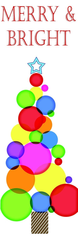 Merry & Bright Dot Tree Banner