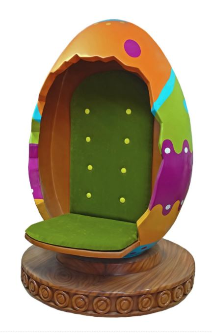 Easter Egg Throne