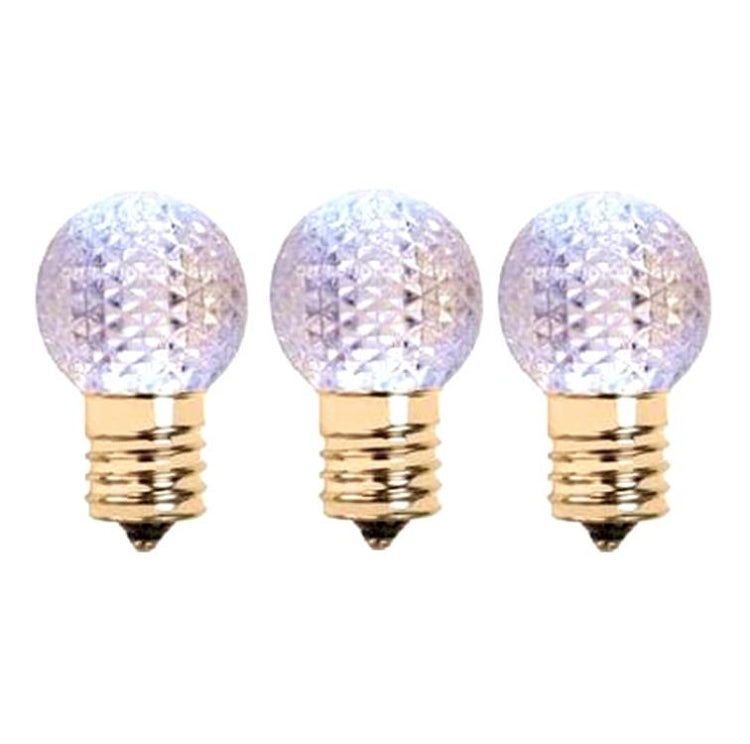 G30 C9 LED Cool White Bulbs