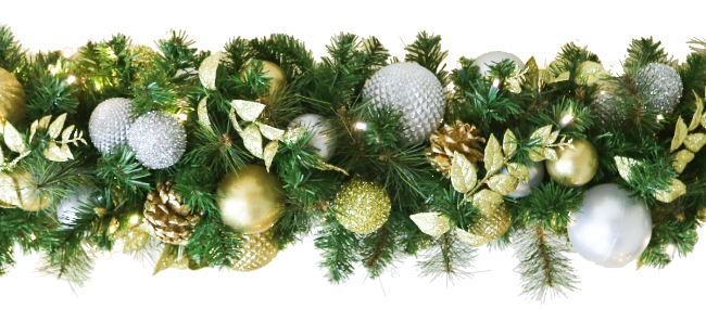 Lavish Decorated Garland